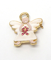 BREAST CANCER ANGEL PIN