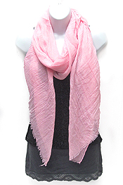 SOLID COLOR SCARF