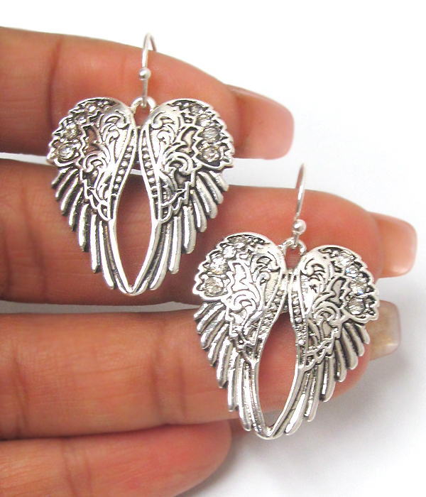 ANGEL WING EARRING