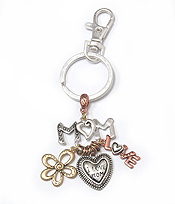 MOM THEME CHARM KEY CHAIN