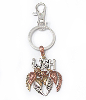 WINGS THEME CHARM KEY CHAIN