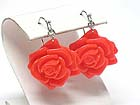 ACRYL FLOWER DROP EARRING