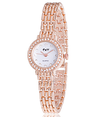 CRYSTAL FACE WOMEN WATCH