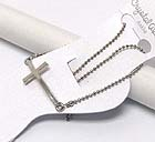 PLAIN SIDE CROSS ANKLET