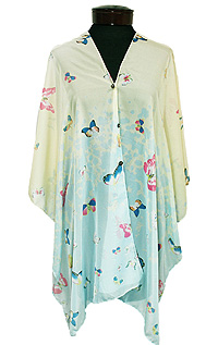 BUTTERFLY  MULTI DESIGN 3 WAY BEACH PONCHO COVER UP