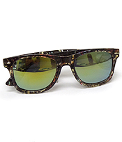 MIRROR ACRYLIC FRAME SUNGLASSES-UV PROTECTION