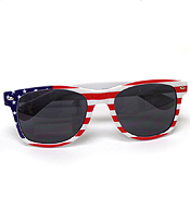 AMERICAN FLAG ACRYLIC FRAME SUNGLASSES-UV PROTECTION