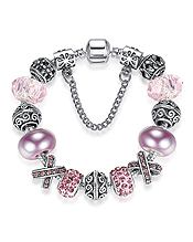EUROPEAN STYLE INTERCHANGEABLE CHARM BRACELET