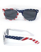 UV PROTECTION AMERICAN FLAG SUNGLASSES
