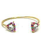 ETHNIC SEED BEADS THILLION CUFF BANGLE BRACELET