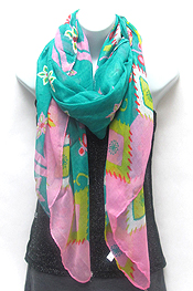DITSY YARD PAINT SCARF