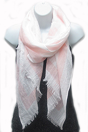 ANCHOR CHEVRON PATTERN SCARF