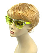 SUMMER FUN NEON FRAME SUNGLASSES - UV PROTECTION