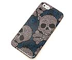 TEXTURED SKULL THEME CELLPHONE CASE -HARD CASE FOR IPHONE 5