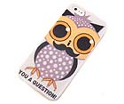 YOU A QUESTION ! WITH OWL THEME CELLPOHNE HARD CASE -HARD CASE FOR IPHONE 5