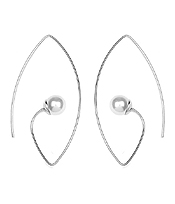 PEARL WIRE HOOK EARRING