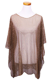 FISHNET BEACH PONCHO COVER UP