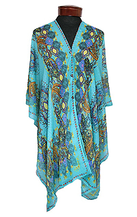 BOHEMIAN MULTIWAY BEACH PONCHO COVER UP