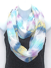 MIX COLOR INFINITY SCARF
