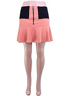 ZIPPER FRONT ELASTIC MINI SKIRT