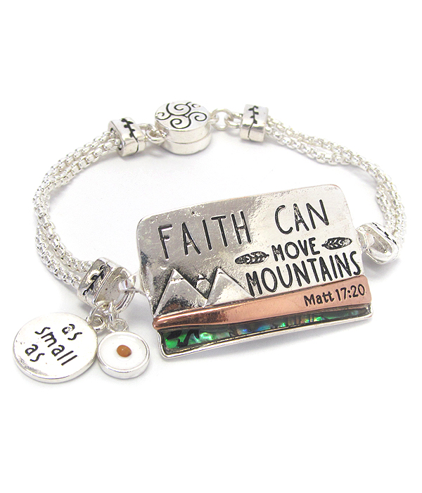 wholesale religious inspiration magnetic bracelet as small as