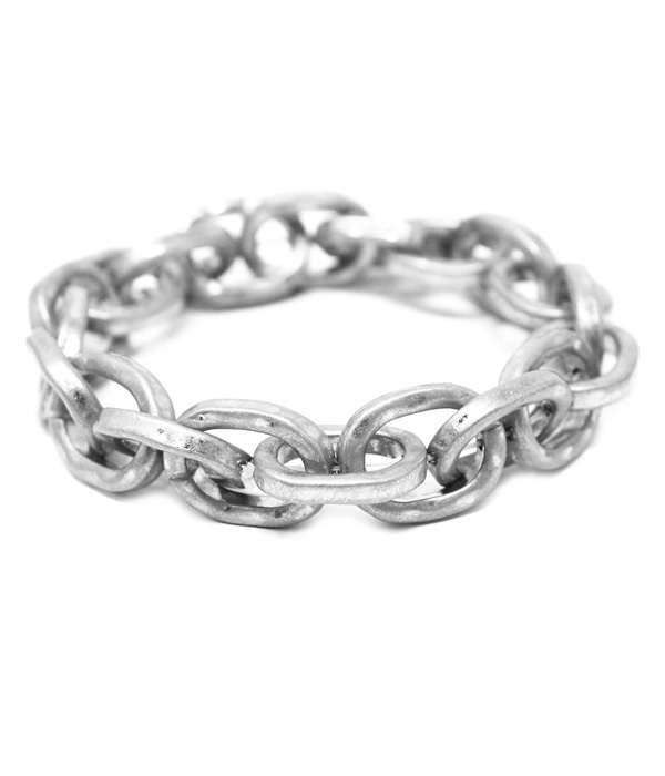 METAL CHAIN STRETCH BRACELET