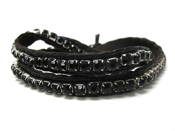 Crystal Bracelets Wholesale Wholesale Long Crystal And