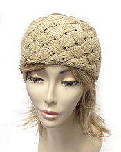 WOVEN KNIT WINTER HEADWRAP