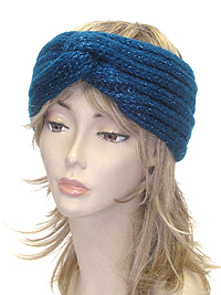 TWIST KNIT HEADWRAP