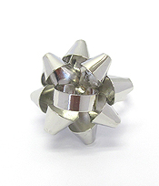 GIFT BOX BOW ADJUSTABLE RING