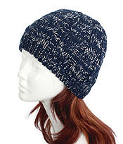 100% ACRYLIC HAND KNIT BEANIE WINTER HAT