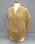 KNIT AND CROCHET HANDMADE SHAWL AND STOLES