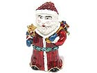 CHRISTMAS THEME CRYSTAL DECO SANTA JEWELRY BOX