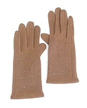 CRYSTAL SPRINKLE GLOVES - 65% POLYESTER 35% COTTON
