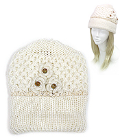 HAND KNIT WINTER HAT