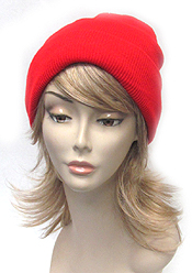 SOLID COLOR SLOUCHY BEANIE