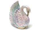 SWAN SHAPE JEWELRY BOX