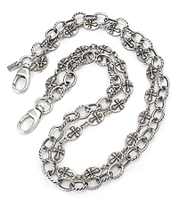 MENS STAINLESS STEEL JEANS CHAIN - MULTI ROW