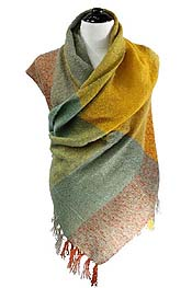 DOUBLE COLOR SCARF